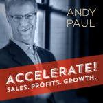 Accelerate Podcast Live TODAY! With Me & Andy Paul!