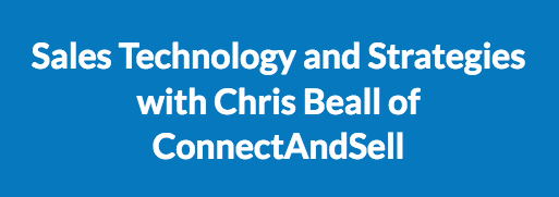 Chris Beall Talks Sales In A Podcast With The Fintech World